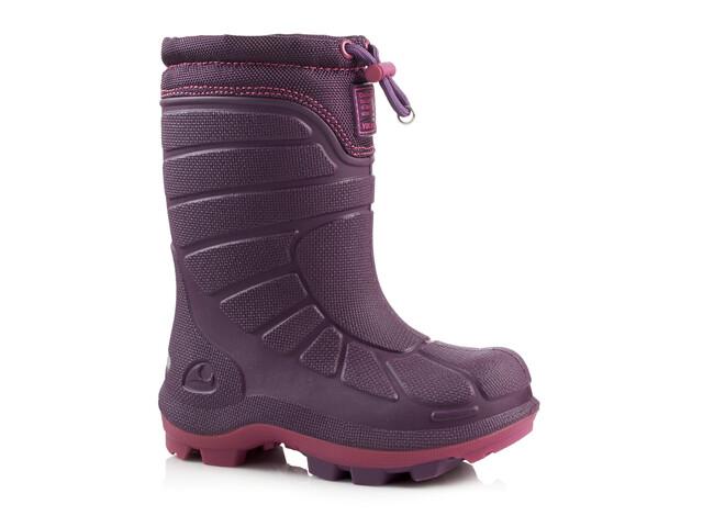 Botas de invierno Viking Extreme rosa/violeta para niños
